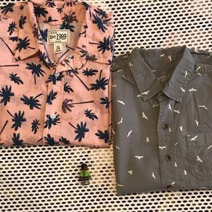 Children's Place & Arizona Jean Shirt SIZE 7/8